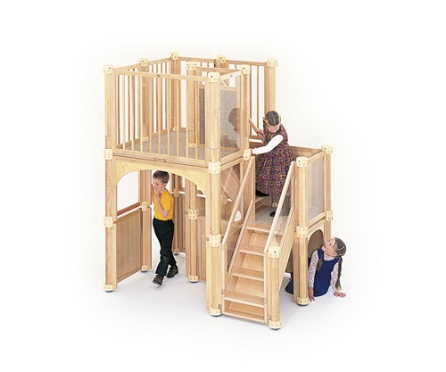 Kids Play Loft Indoor Play Lofts For Classrooms Community Playthings