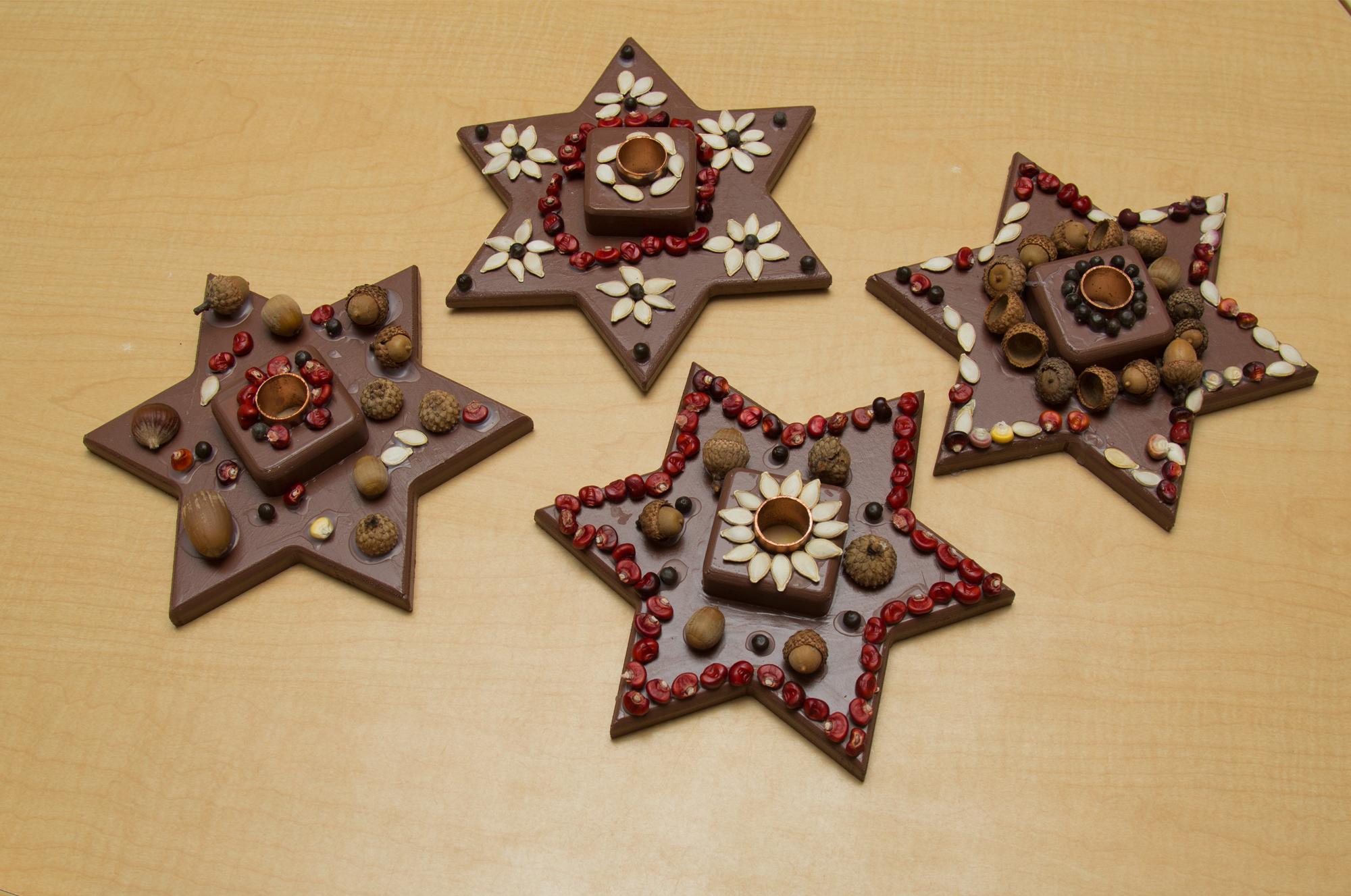 Christmas crafts - Bastelideen weihnachten kinder ...