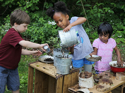 Communityplaythings Com Making A Mud Kitchen
